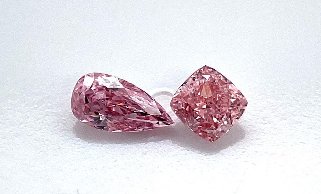 Pink investerings diamant